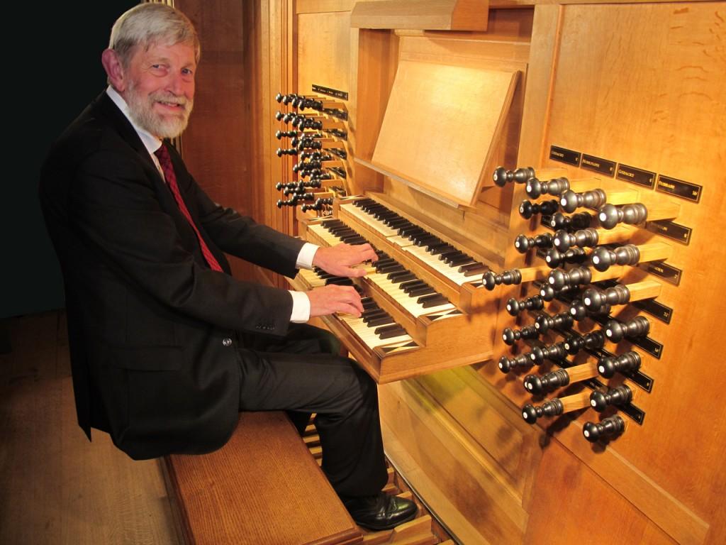 Orgelconcerten in de Nieuwe Kerk op 12 mei