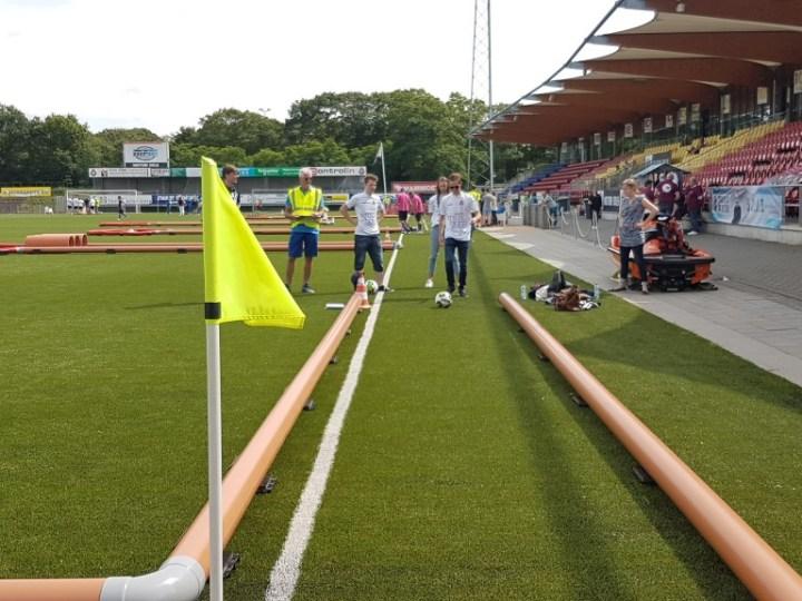 Primeur Footgolf in stadion geslaagd