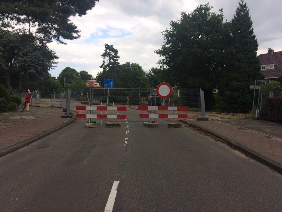 Waterloolaan Driehuis afgesloten