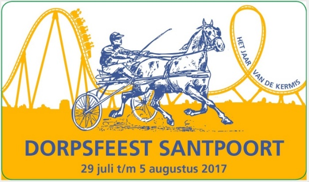 Activiteiten tijdens het weekend Dorpsfeest Santpoort.