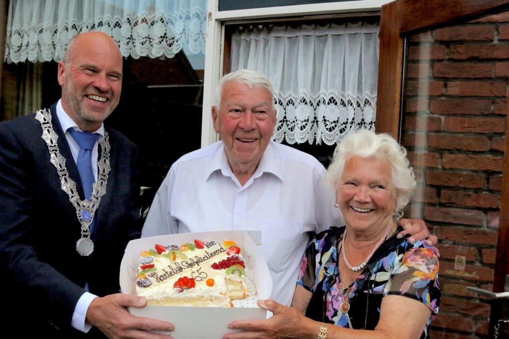 Echtpaar Kraaijeveld-Leguit 65 jaar getrouwd