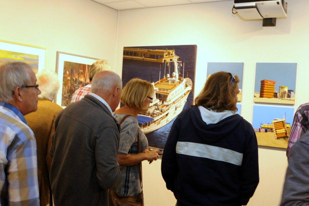 12-Zeegezichten Zee en Havenmuseum schilderijen
