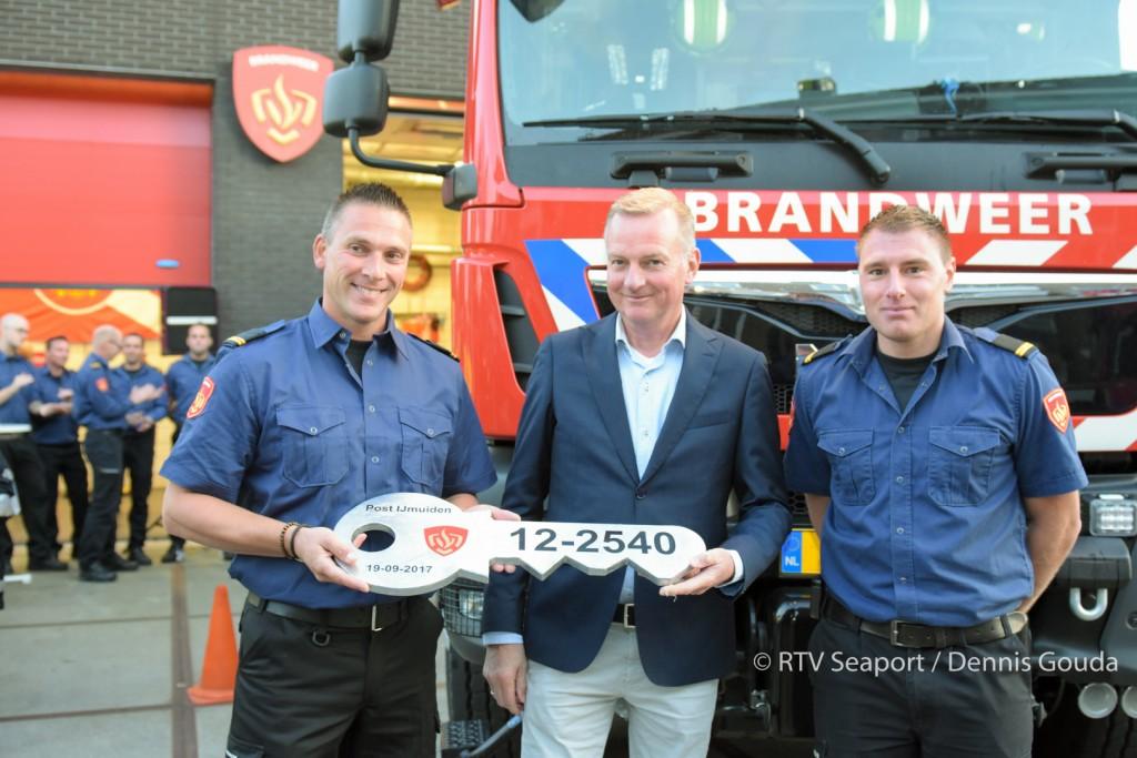 Nieuwe tankauto voor Brandweer Post IJmuiden