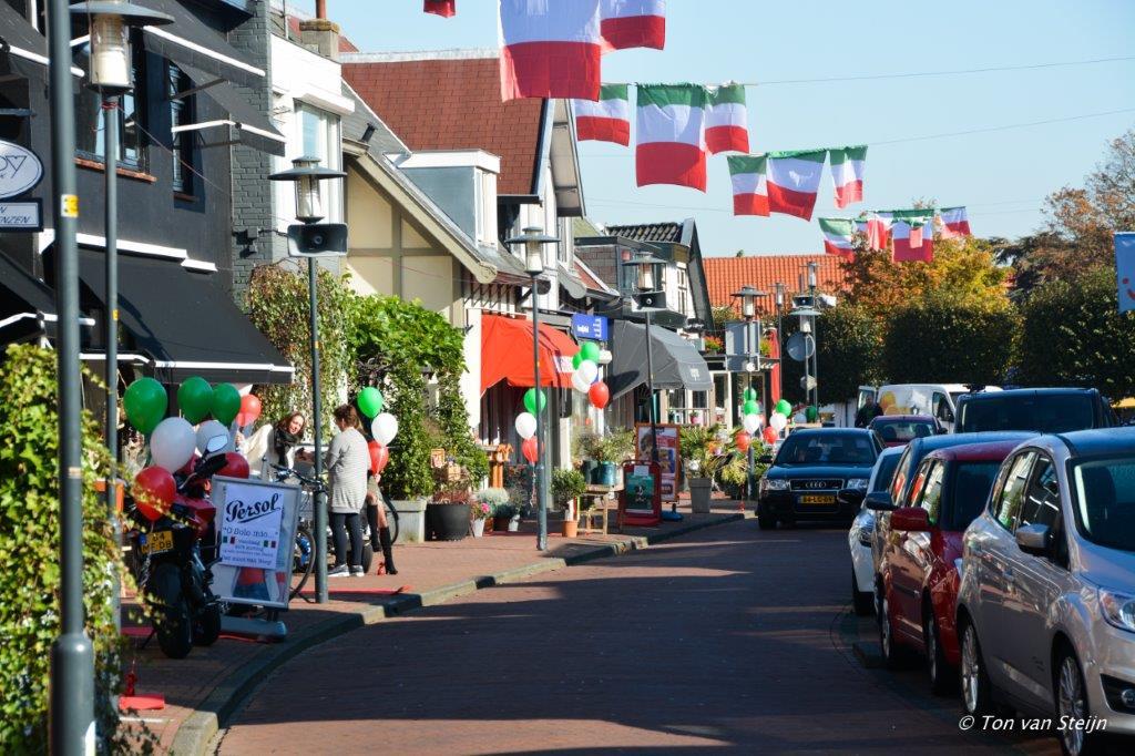 Italiaans nazomeren in Santpoort-Noord