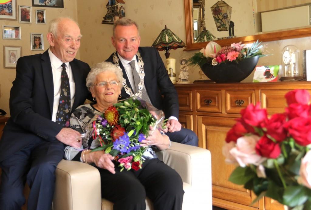 65 jarig bruidspaar Heijse-van Oevelen