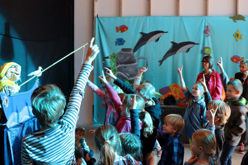 Interactief kindertheater Poppekus