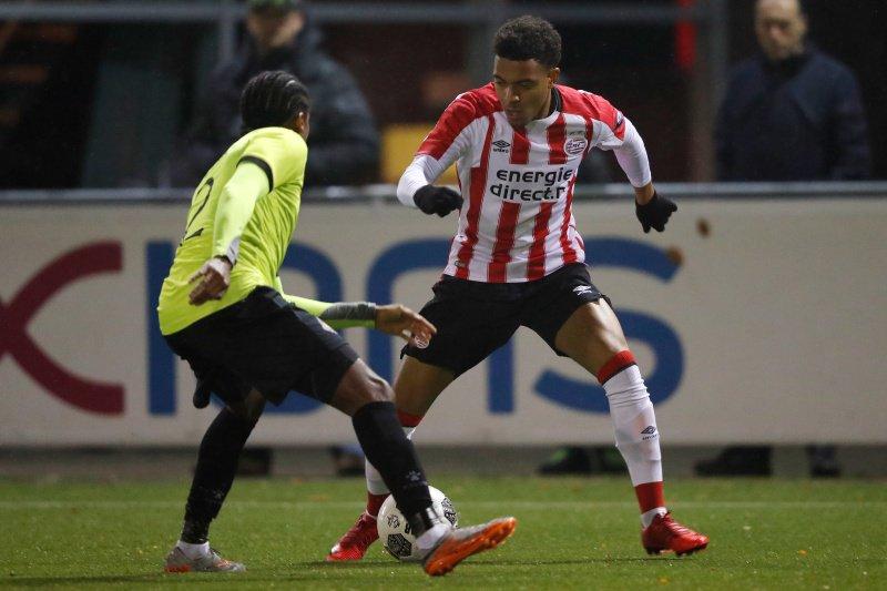 Telstar met 6-0 onderuit tegen Jong PSV