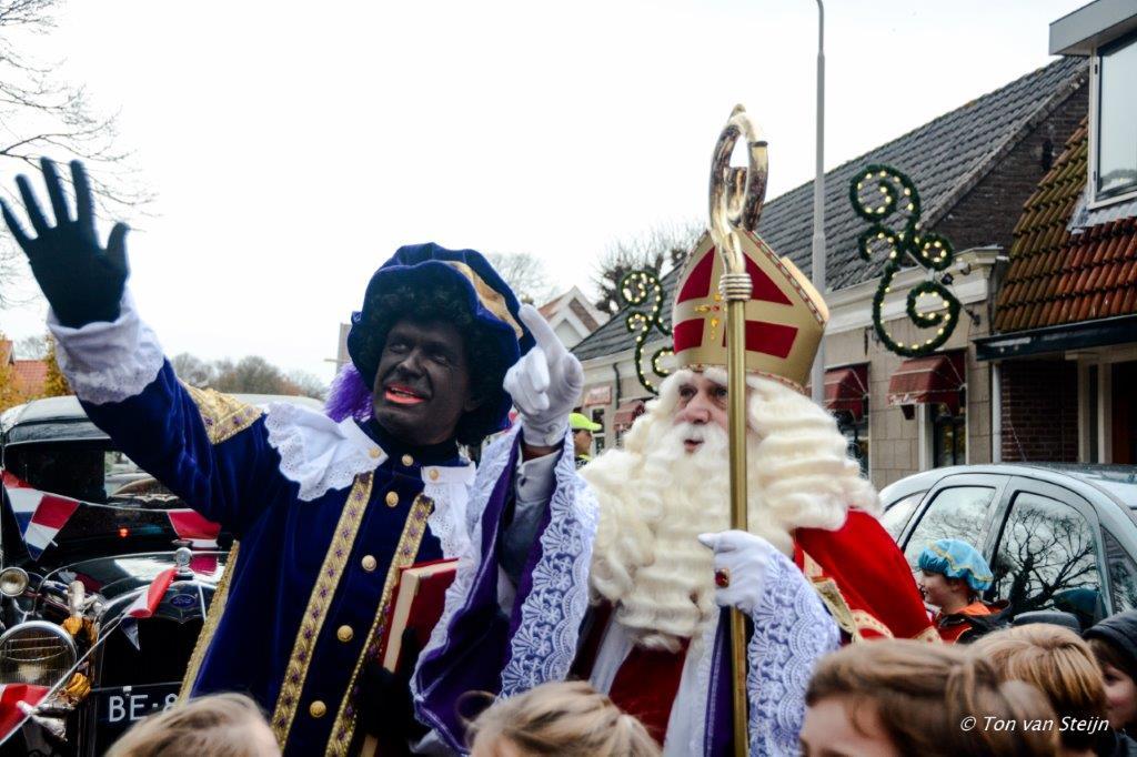 Aankomst Sinterklaas in Driehuis en Velserbroek