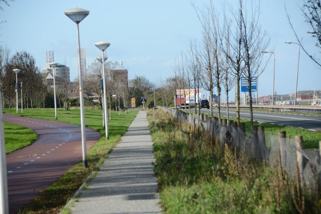 wandelpad IJmuiderstraatweg