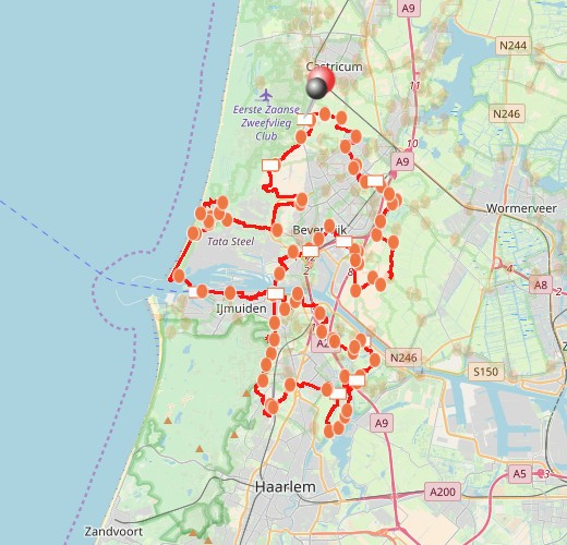 IJmondpad genomineerd voor beste wandelroute