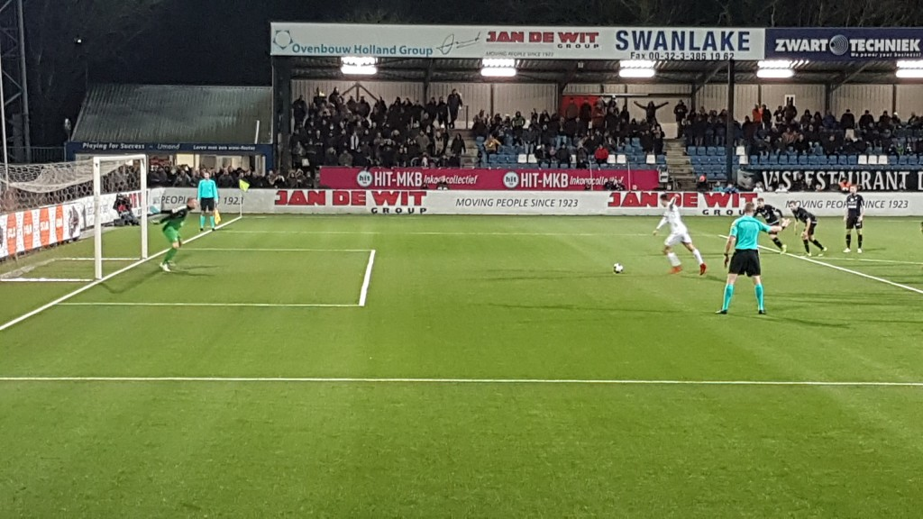 Telstar kan niet winnen van FC Emmen