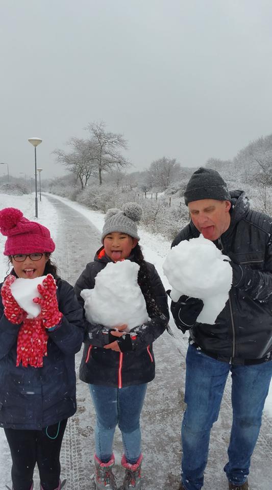 Sneeuw Anke Wubs