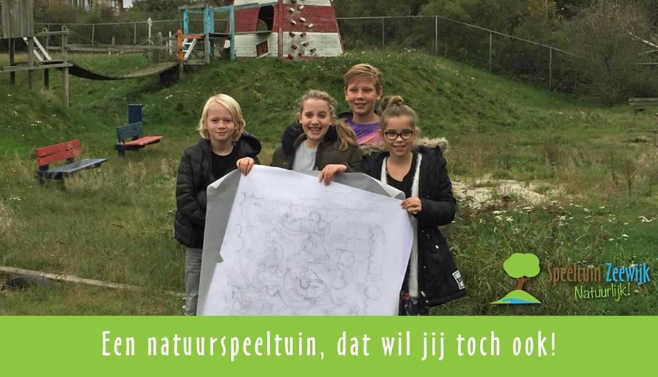 Nieuw ontwerp voor Speeltuin Zeewijk