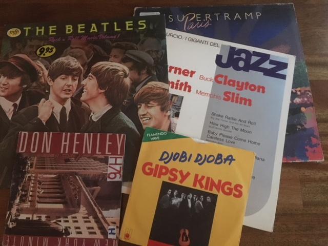 Nog één keer de kans op vynil, cd's en singels
