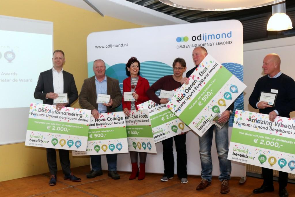 IJmond Bereikbaar Awards uitgereikt