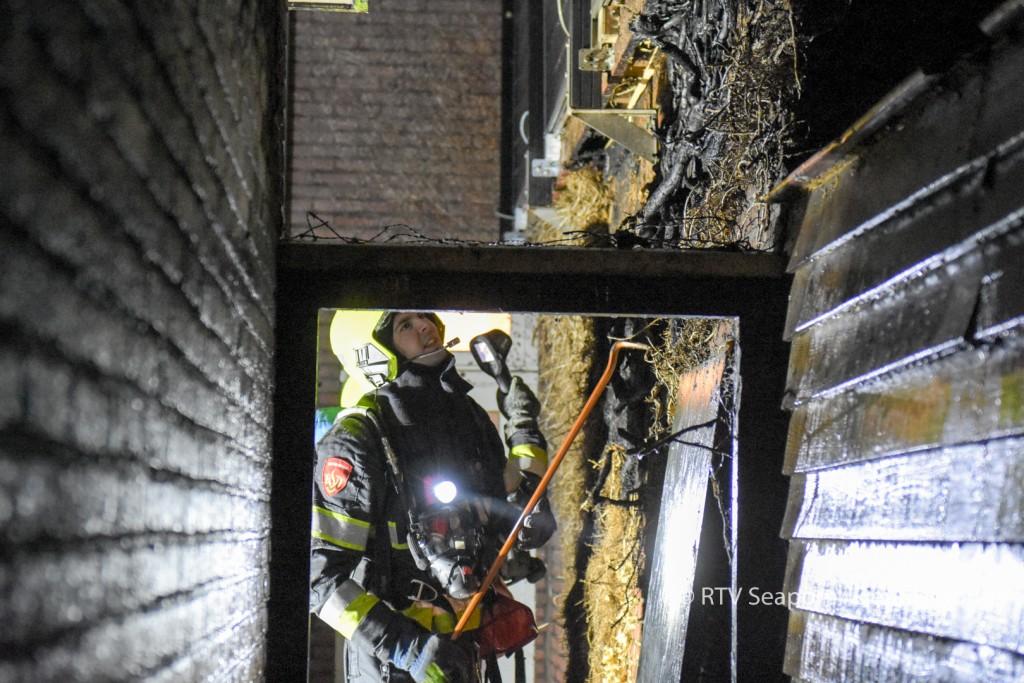 Brandweer groots uitgerukt voor brandje