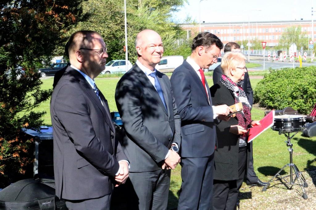 2018-05-04 Dodenherdenking Hoogovens Velsen Nrd - 6