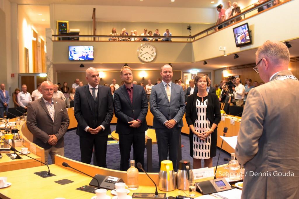 Nieuwe wethouders en raadsleden