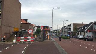 Bushokje Hagerlingerweg Santpoort verplaatst