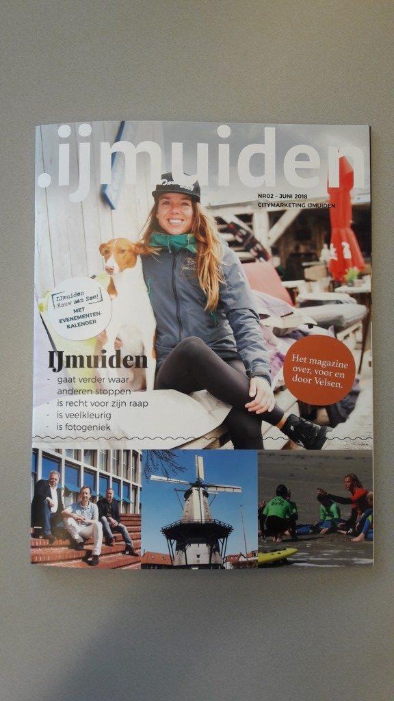 Punt IJmuiden komt met tweede magazine