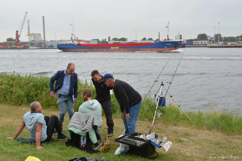 Visdag aan het Noordzeekanaal