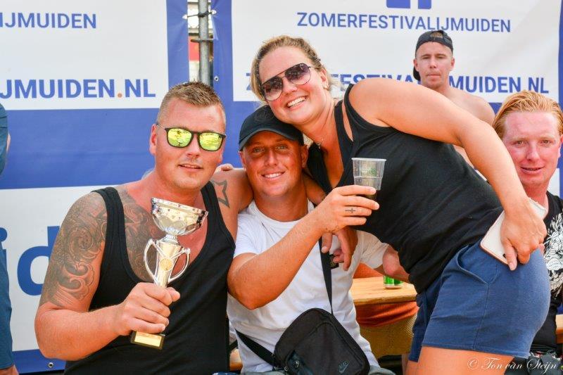 Beach Volleybal op het Zomerfestival