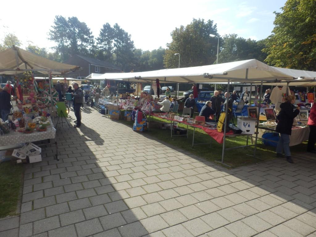 Huur een marktkraam tijdens pinkenweekend
