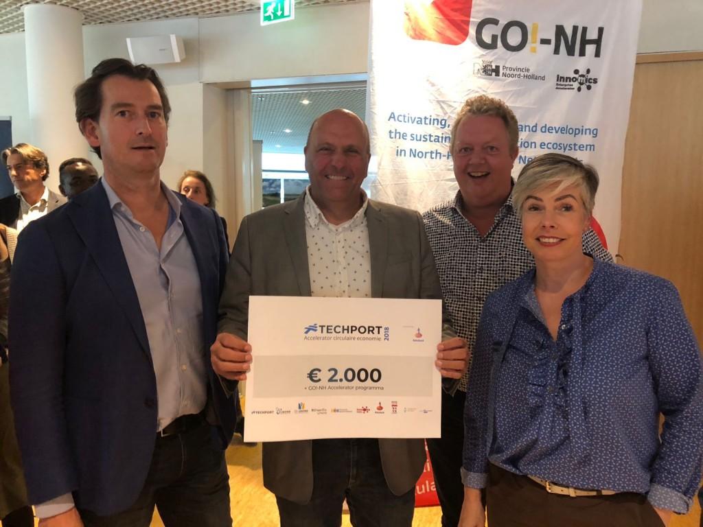 Braam Recycling wint Techport Challenge