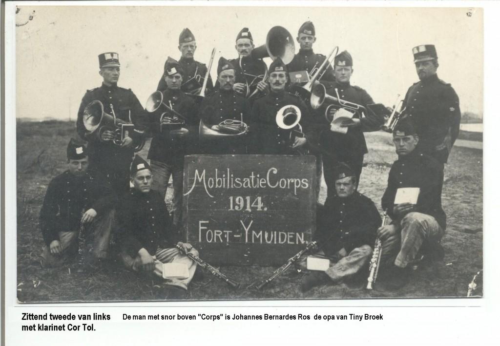 Eerste wereldoorlog concert in de kerk