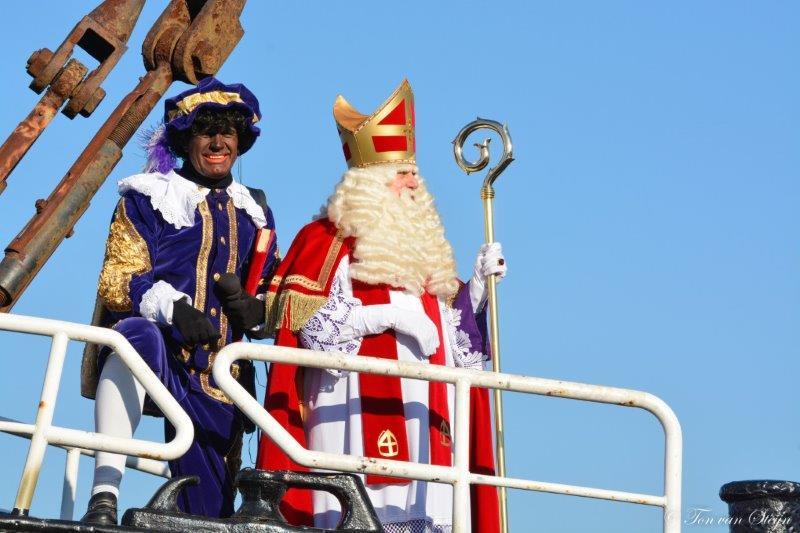 Aankomst Sinterklaas in IJmuiden