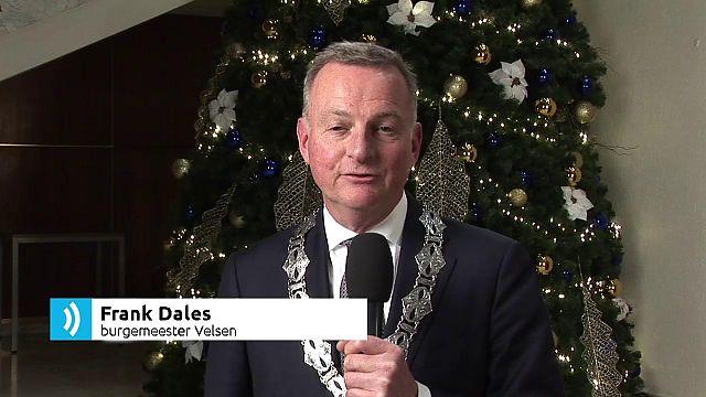 Kerstgroeten burgemeester en fractievoorzitters Blok 1