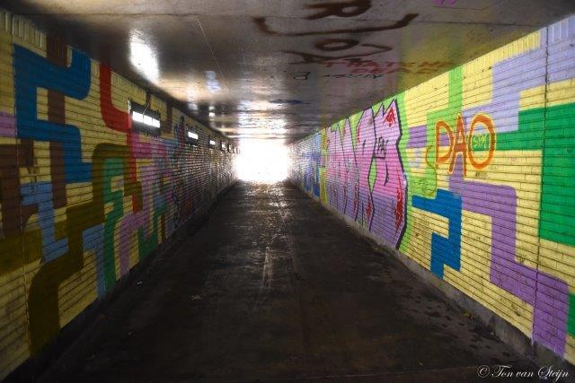 tunneltje station Santpoort-Noord (6)