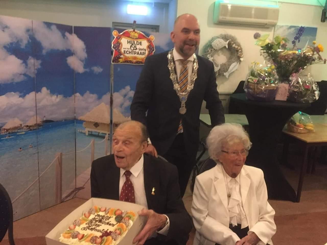 Echtpaar Bosschert 65 jaar getrouwd