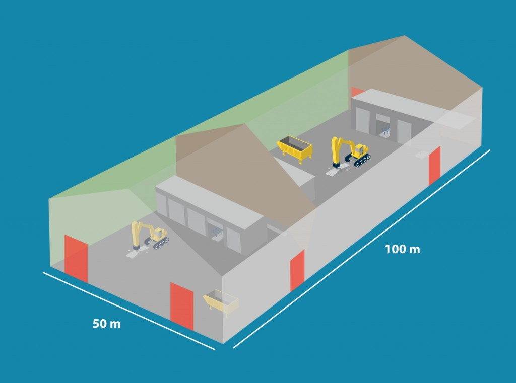 Start bouw hal tegen grafietregen Tata Steel