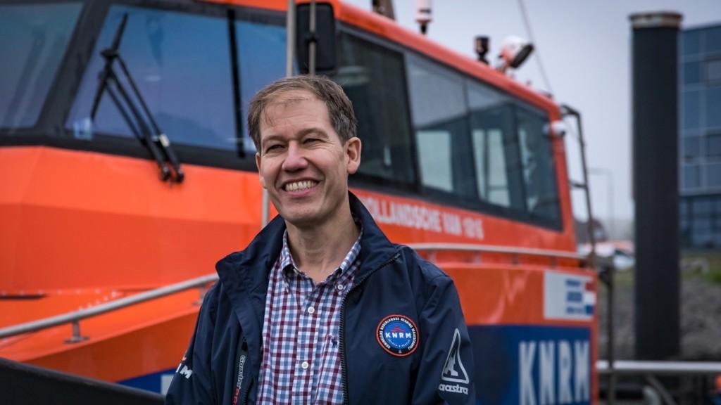 Jacob Tas nieuwe directeur van de KNRM