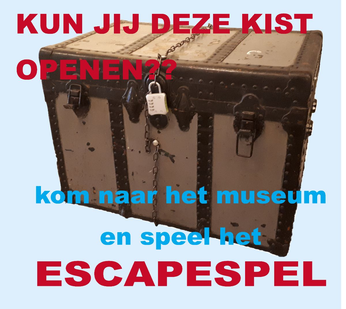 Nieuw escapespel in Zee- en Havenmuseum