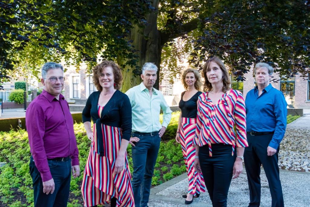 Optreden Vocalgroep Cigale op Brederode