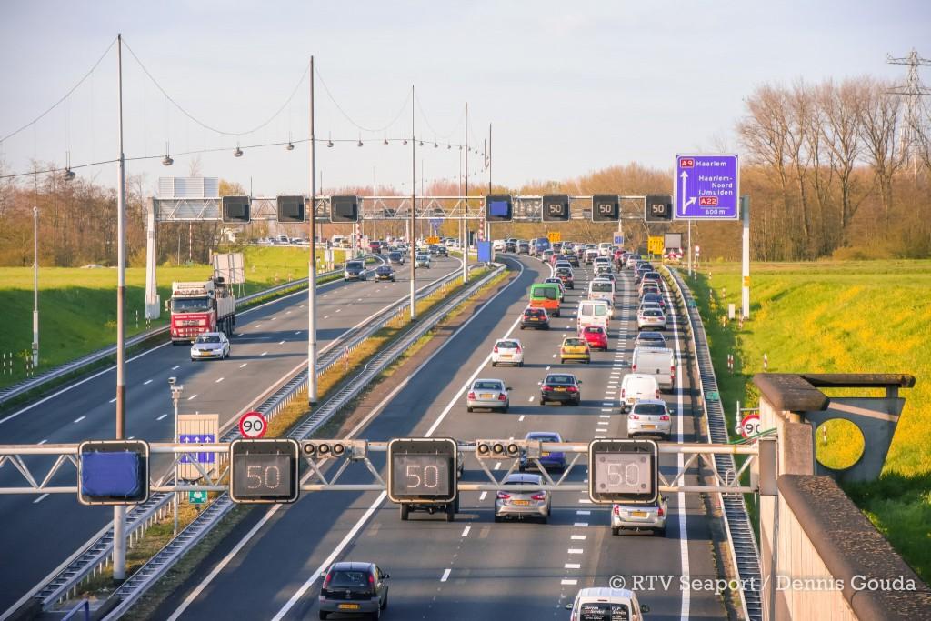 Wederom verkeerschaos rondom Velsen