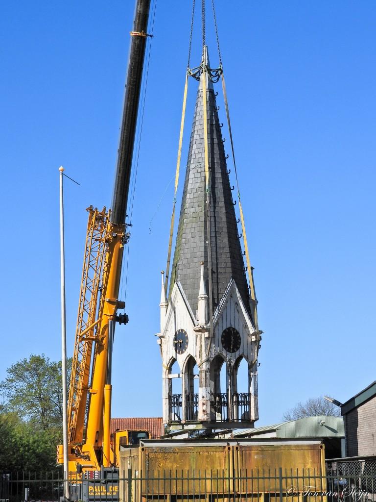 Torentje op reis naar Friesland