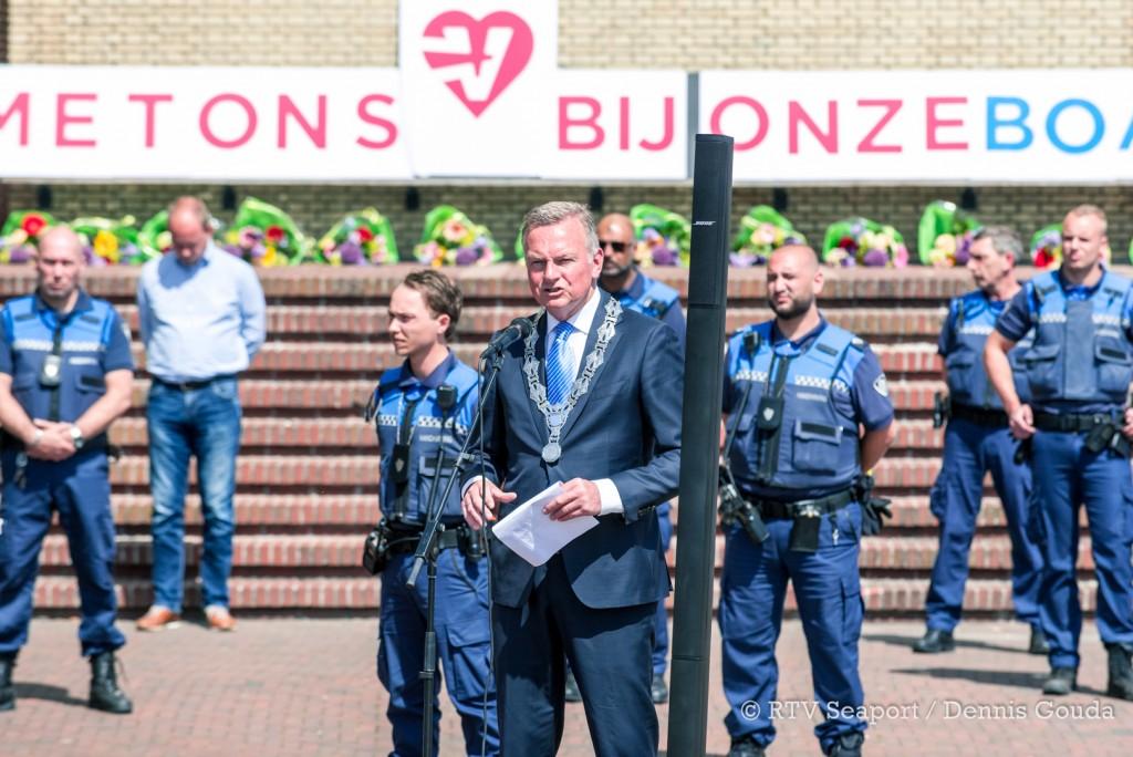 Protest Boa's in IJmuiden