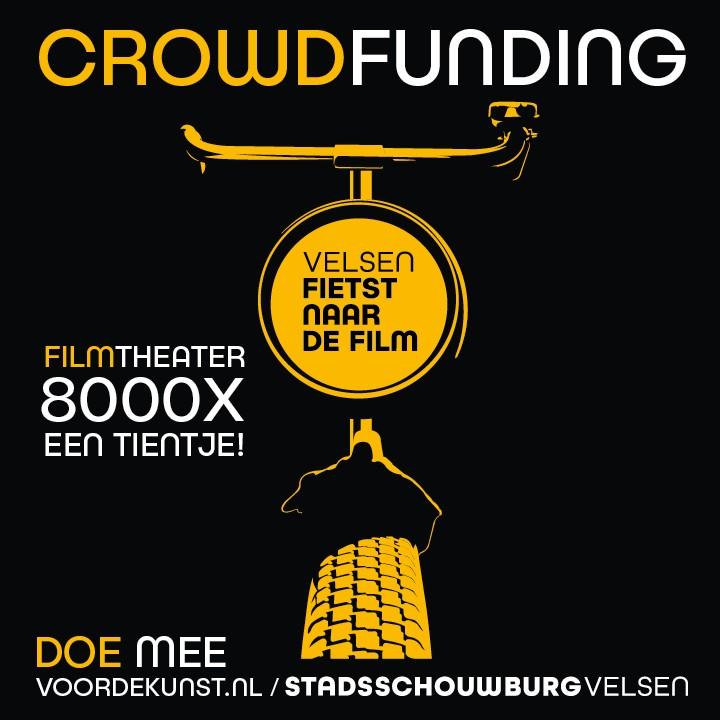 Crowdfunding voor films in de Stadsschouwburg