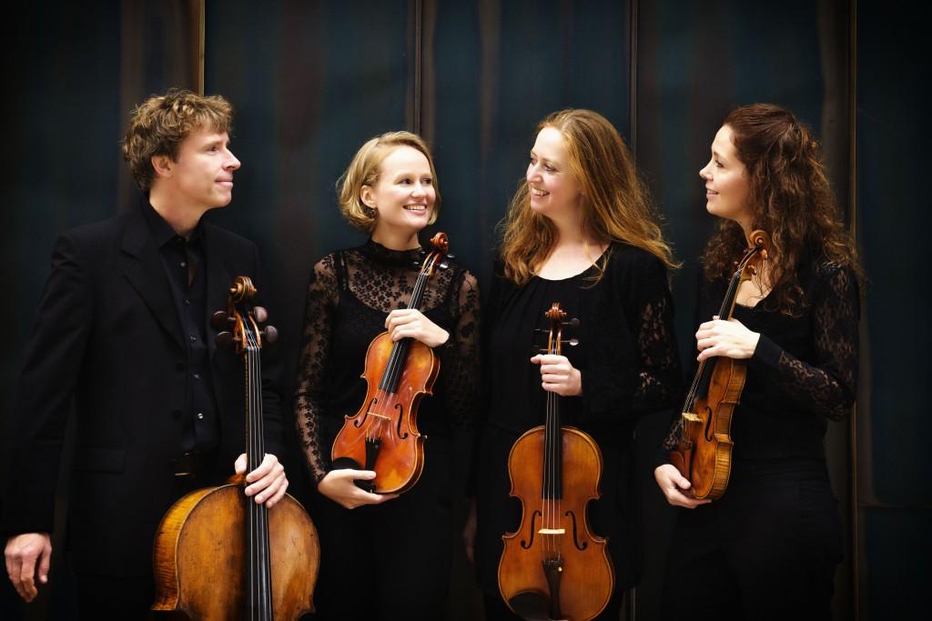 Het Vespucci Kwartet in 't Mosterdzaadje