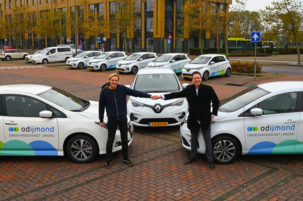Elektrisch wagenpark voor Omgevingsdienst IJmond