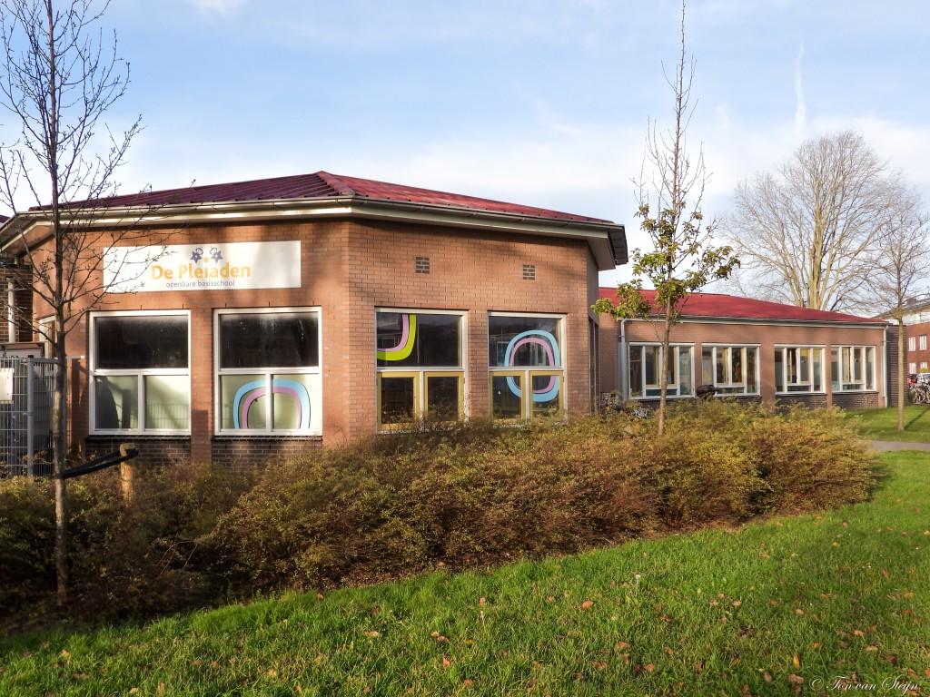 Afval scheiden op Pleiaden- Jan Campertschool