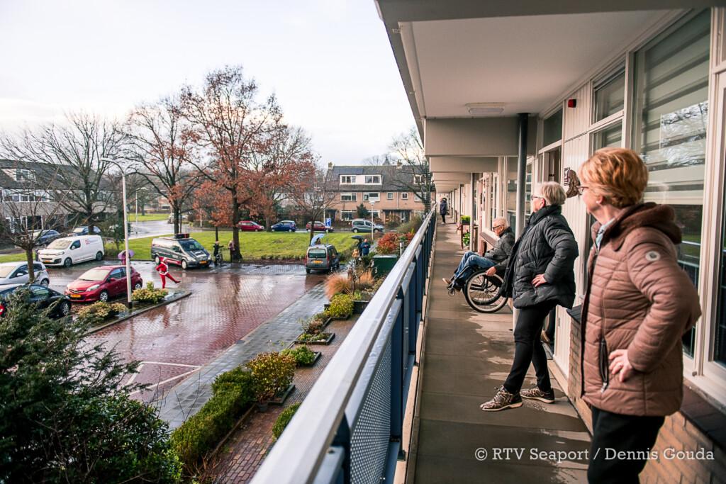 Balkon bewegen on tour in Velsen