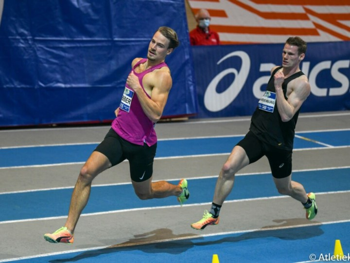 Santpoortse Dobber pakt brons op NK Indoor Atletiek