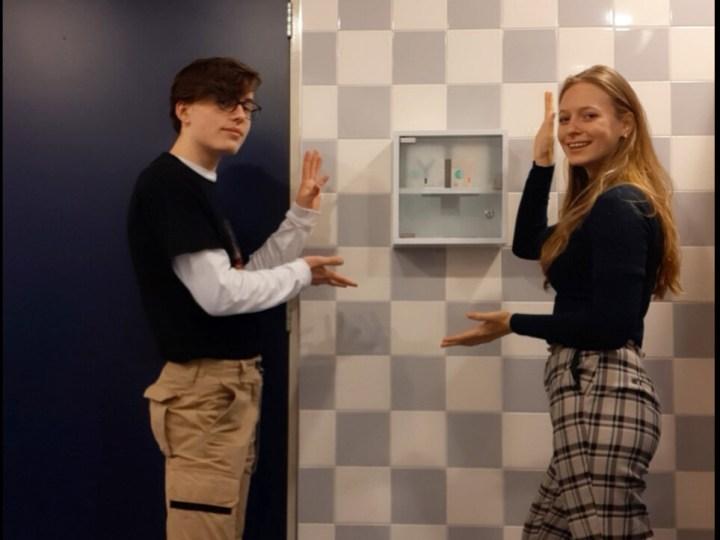 AUDIO – Leerlingen organiseren gratis menstruatieproducten op toiletten Felisenum