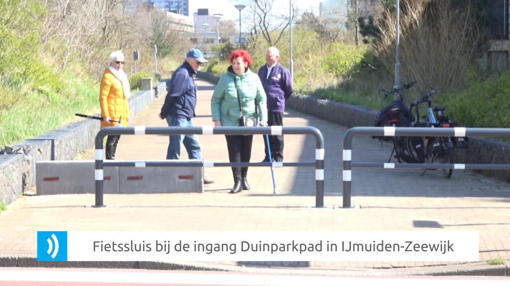 VIDEO – Duinpark Zeewijk voorzien van een fietssluis
