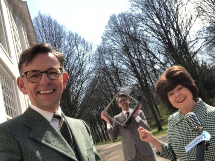 TV programma IJmuidense Theatergroep Second Opinion