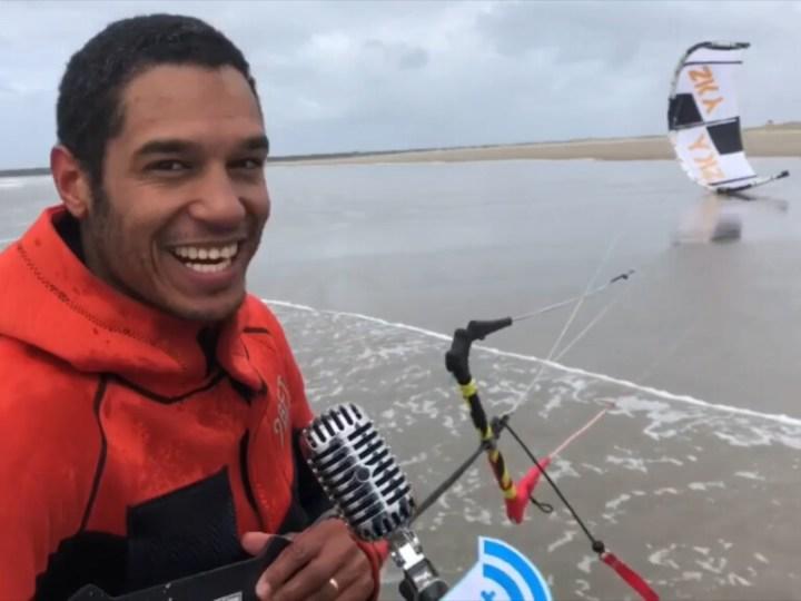 Wat dat aan gaat en al dat soort dingen meer – Kitesurfen met windkracht 10